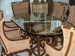 glass cover for dining table beveled glass table tops pre cut glass table tops decorative wave