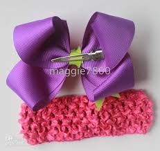 ribbon boutique 6 the top large boutique hair bow hair clipsgirls handmade