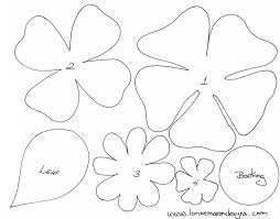 free felt ornament patterns felt flower patterns http