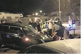 kent medway boy racer crash dozens injured after horrific estate