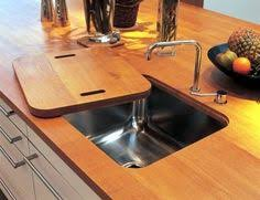Cutting Board Kitchen Countertop - prep sink on island with a built in cutting board this is genius