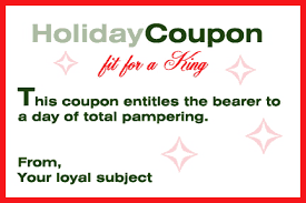 holiday coupon love coupons