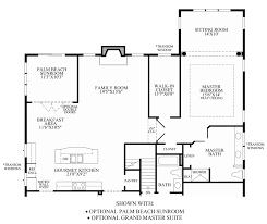 Double Master Bedroom Floor Plans by Regency At Stow The Villas Collection The Bowan Home Design