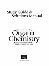essential organic chemistry paula yurkanis bruice prentice hall