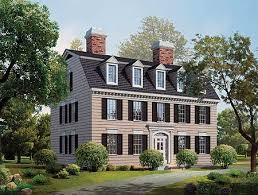 colonial style home plans simplicity in a federal style home plan 81142w architectural