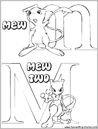 pokemon mew coloring pages images pokemon images