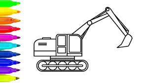 construction vehicles coloring pages virtren com