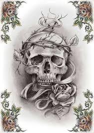 tattoos history free skull designs to print