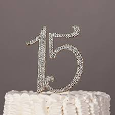 15 cake topper 15 cake topper gold quinceañera 15th birthday