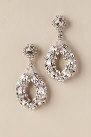silver chandelier earrings chandelier earrings by bhldn the vintage herald
