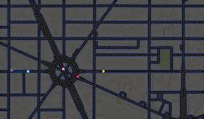 Google Maps Washington by Pac Man Invades Google Maps Today