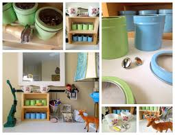furniture creative homemade art and craft storage ideas using cans