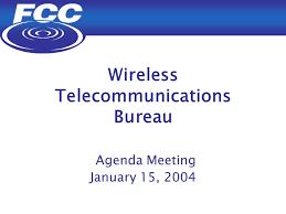 agenda bureau wireless telecommunications bureau wireless telecommunications