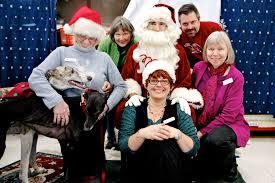 eugene santa at petco greyhound pet adoption northwest