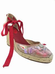 ribbon wedges christian louboutin ribbon espadrille wedges christian louboutin