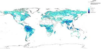 world rivers map gwsp digital water atlas annual river discharge