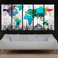 world map with country names contemporary wall decal sticker best world map with countries names products on wanelo