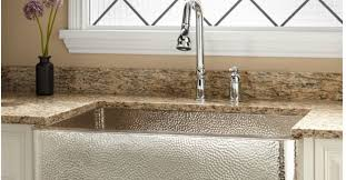 hammered nickel bathroom sink hammered nickel farmhouse sink miketechguy com