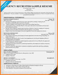 Resume Examples It by X 425 Organising Recruiter Resume Samples Full Size Of