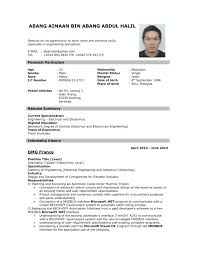 Best Resume Download For Fresher by Job Resume Format Pdf File With Hr Fresher Resume Pdf Free