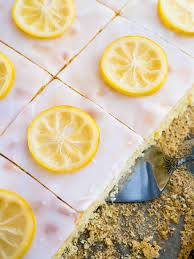 easy lemon sheet cake recipe plated cravings