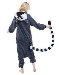 lemur halloween costume amazon com newcosplay ring tailed lemur anime unisex