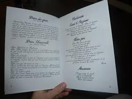 livre de messe mariage livret de messe 6 préparatifs mariage poussinette16062011
