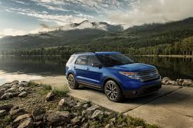 Ford Explorer 2014 - 2015 explorer gets new appearance package u0026 features