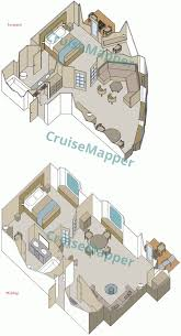 star pride cabins and suites cruisemapper