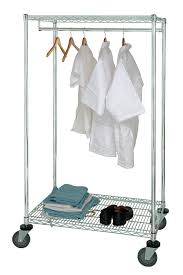 single pole portable garment racks medline industries inc