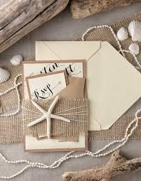 beachy wedding invitations tropical wedding invitations 20 starfish invitations