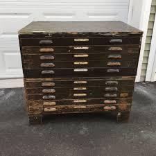 Map Cabinet Antique Map Storage Cabinet Storage Cabinet