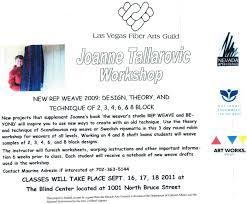 Las Vegas Blind Center Lv Fiber Arts Guild Learning Opportunities