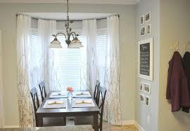 modern bay window curtain rod ideas for install bay window