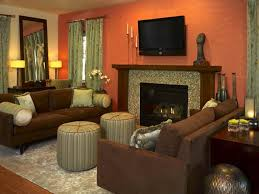 pleasing living room colors with brown leather furniture s13