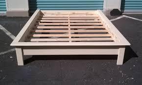 Platform Bed With Mattress Customize It Hawaii Platform Beds The Aloha Boy