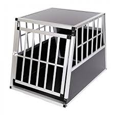 porte box auto zoomundo cage pour chien caisse boite de transport mobile box