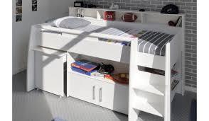 bureau et rangement lit combiné blanc avec bureau rangement novomeuble