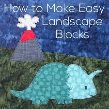 landscape block adhesive how to make easy landscape blocks shiny happy world