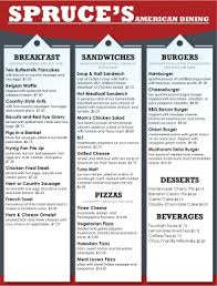 family restaurant menus restaurant pinterest