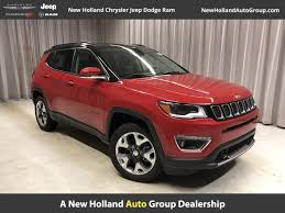 jeep compass limited red 2018 new jeep compass limited at new holland auto group pa iid
