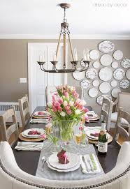 table centerpiece ideas setting a simple easter table with decorations you can snag at