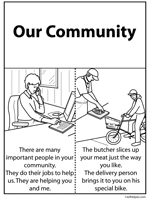 communities activities worksheets printables and lesson plans
