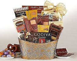 chocolate gift basket godiva chocolate and gift basket for at gift baskets etc