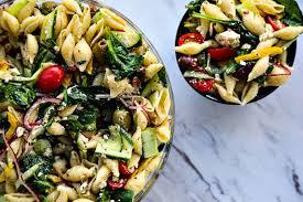 veggie lover u0027s greek pasta salad foodie with family