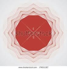 artistic ornamental background line graphics polygon stock vector