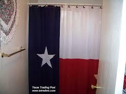 Cowhide Shower Curtain Texas Flag Shower Curtain
