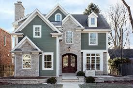 custom home built in the heart of winnetka features james hardie