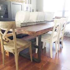 pottery barn farmhouse table diy pottery barn inspired farmhouse table you can easily make with
