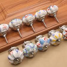 painted ceramic cabinet knobs supply handmade painted ceramic cabinet drawer knobs and handles
